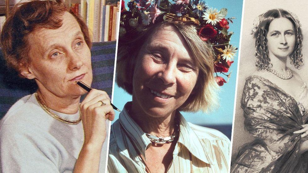 svenska kvinnliga författare