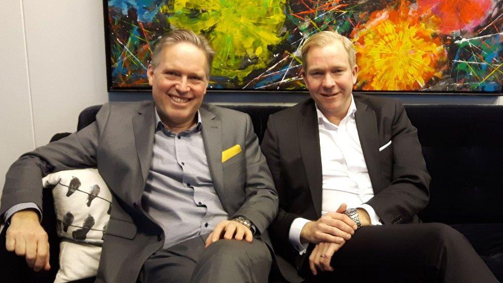 Nils Boghammar och Staffan Bjurström