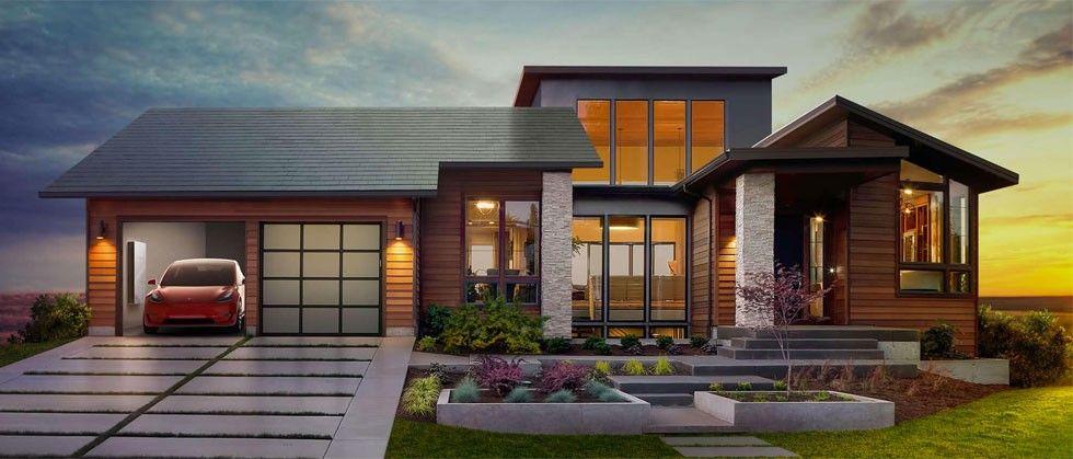 Tesla solpaneler