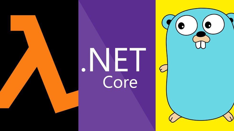 Lambda, Net Core, Go