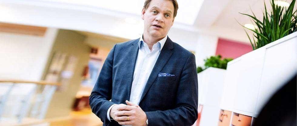 Anders Svensson är vd för Ica-Sverige. Foto: Anna Rut Fridholm