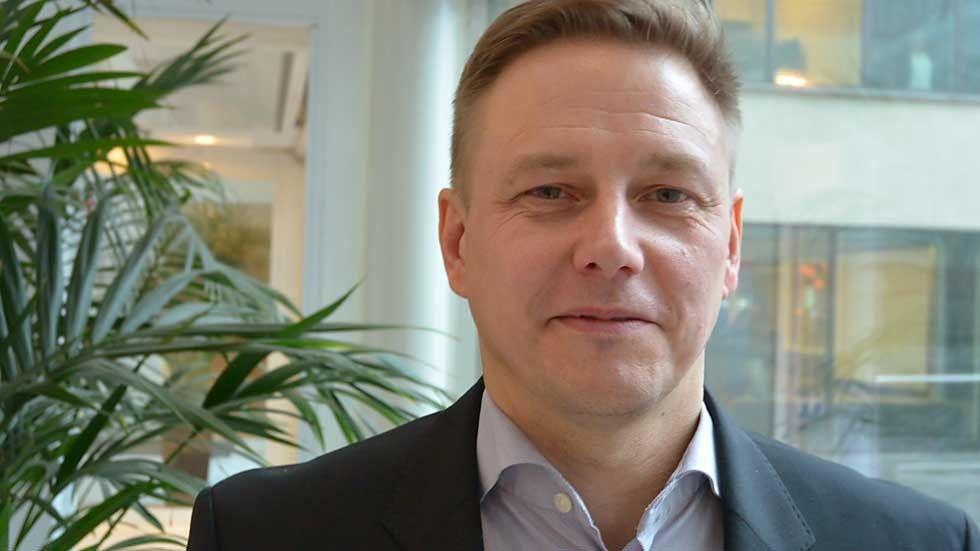Christian Björkly-Nordström, licensstrateg på Saab