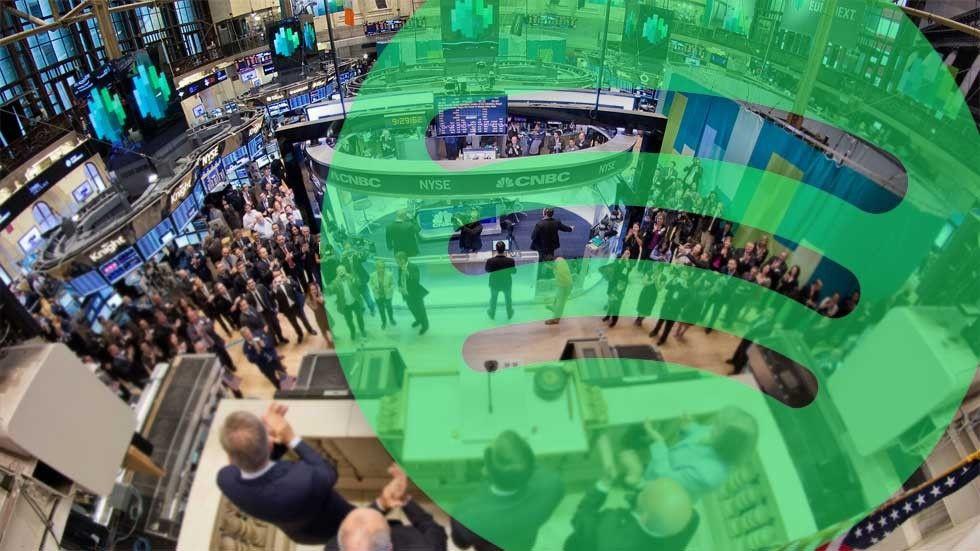 spotify börsen