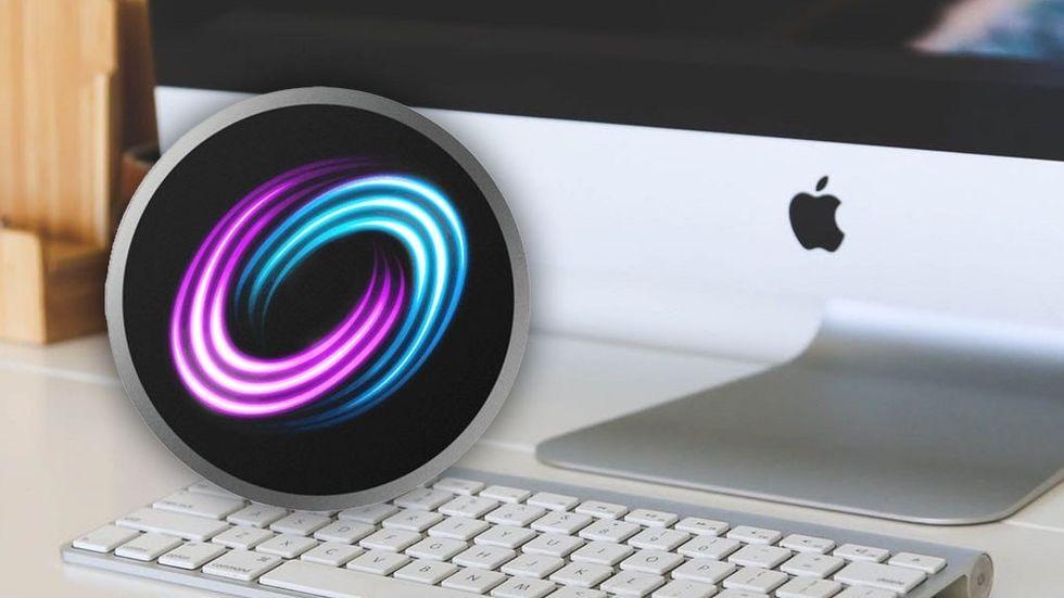 Fusion Drive-ikon och Imac