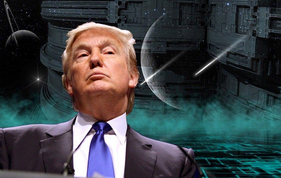 Trump rymdkrig