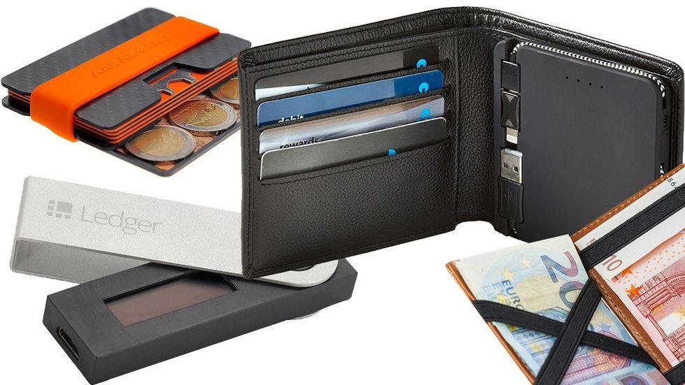 Plånböcker korthållare rfid-skydd