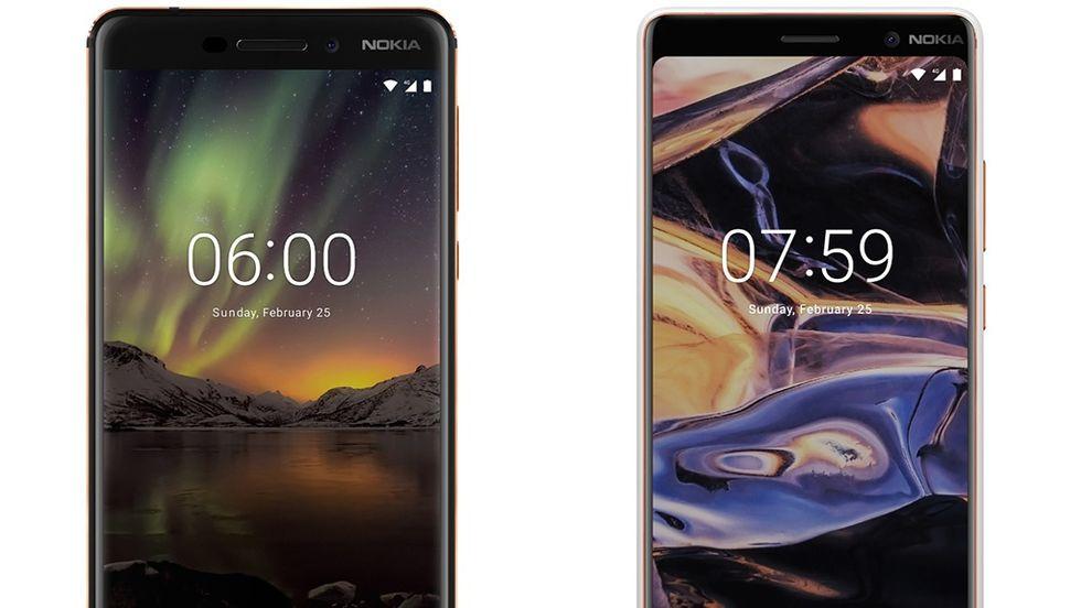 Nokia 6 (2018) och Nokia 7 Plus släpps den 19 april.