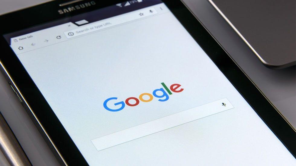 Google i mobil enhet