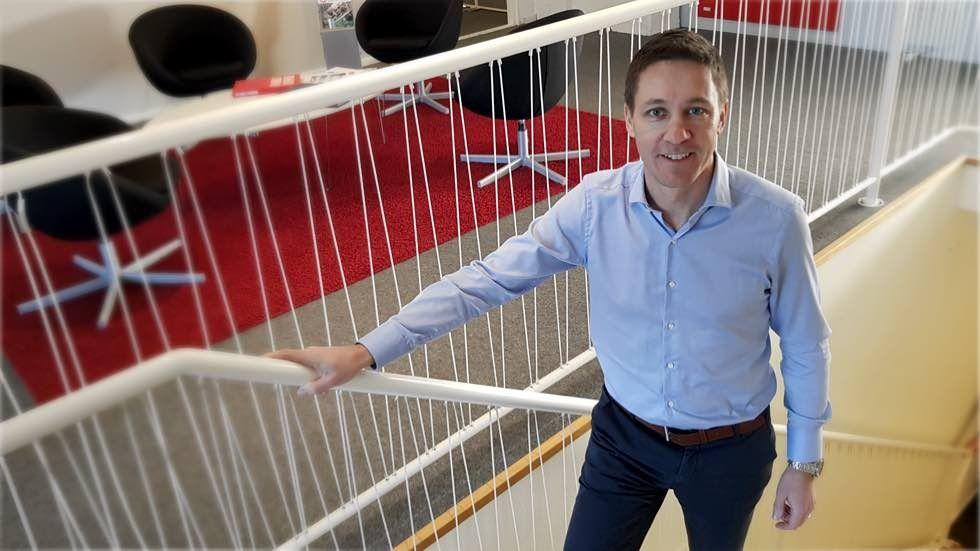 Coromatics nye vd Erik Bertman