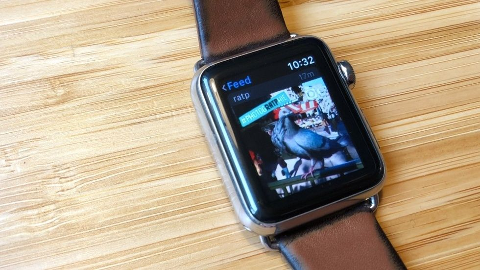 Instagram på Apple Watch