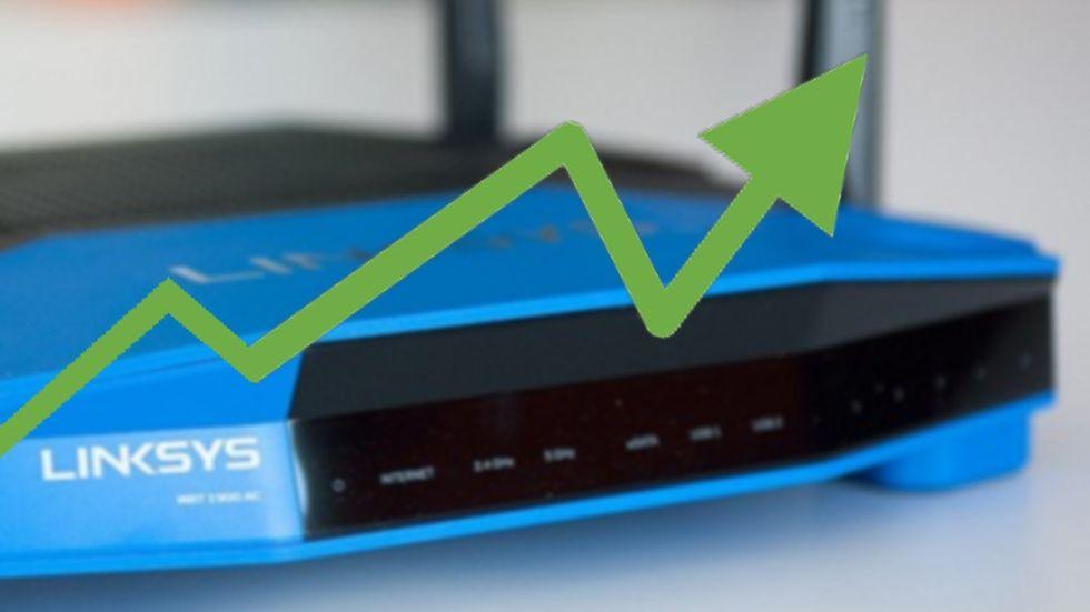 förbättra internet hastighet