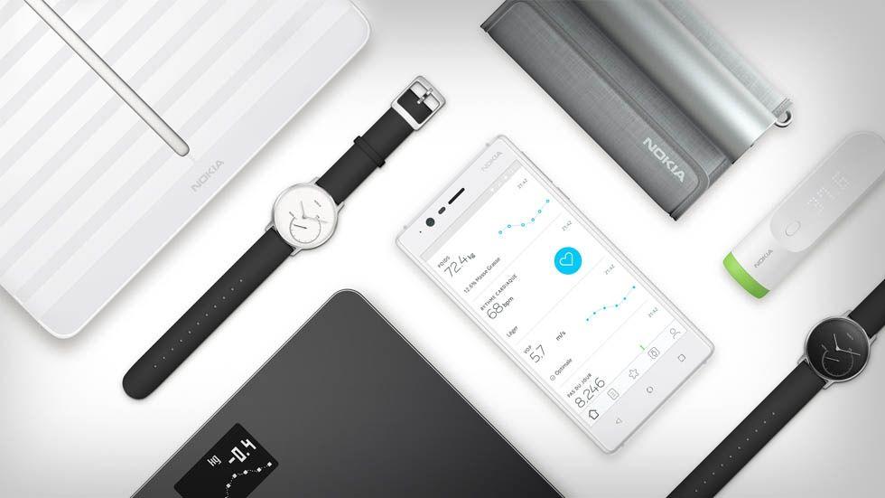 Prylar från Nokia Health