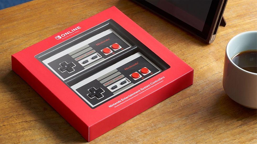 NES-kontroller för Switch