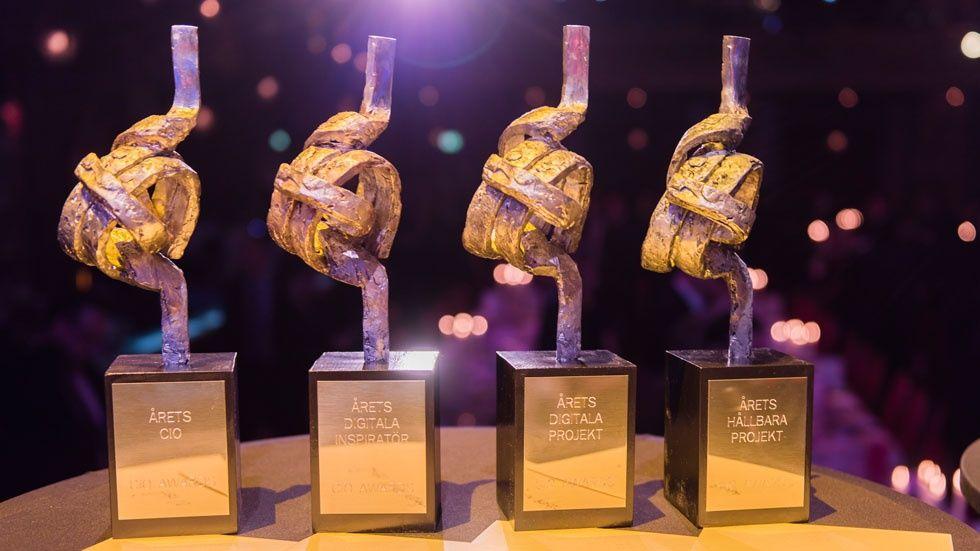 Foto: Prisstatyetter, CIO Awards