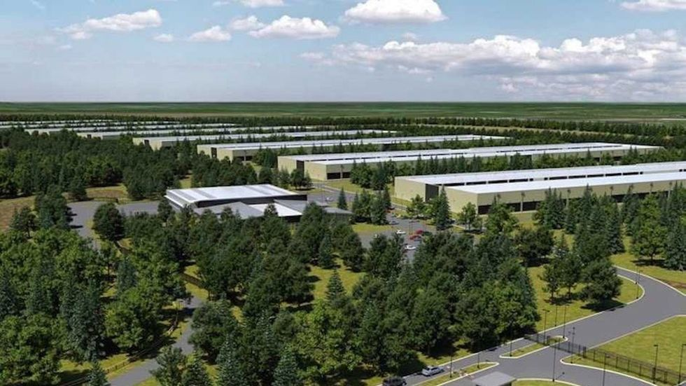 Apples planerade datacenter