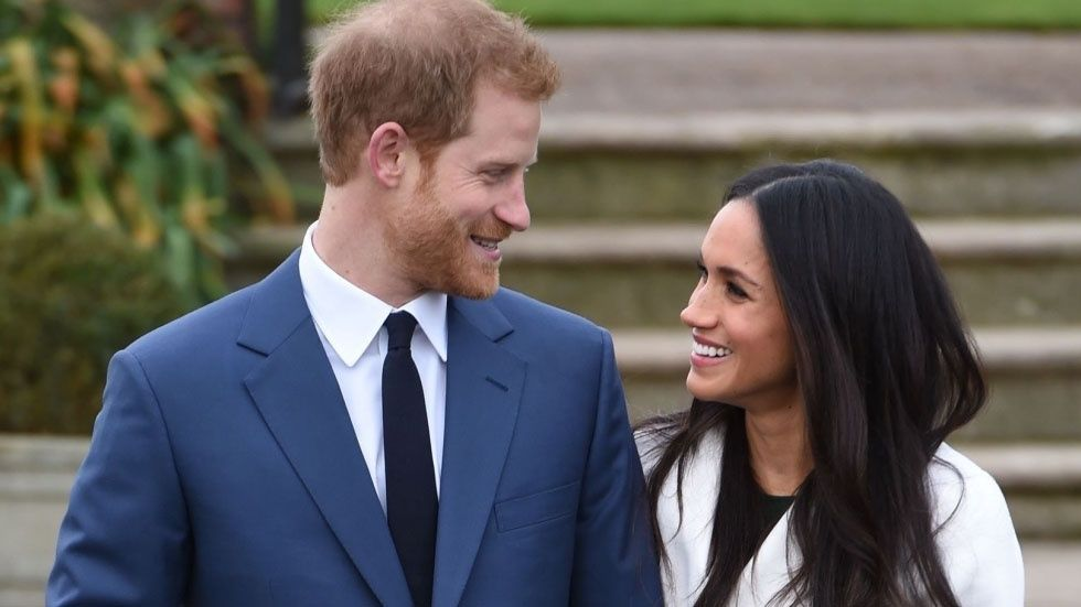 Prins Harry och Meghan Markle