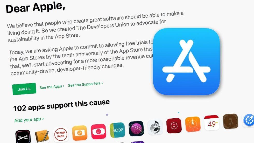 App Store-upprop bland utvecklare