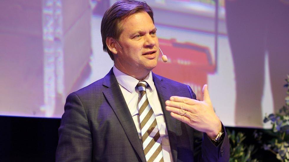 Anders Svensson, vd för Ica Sverige
