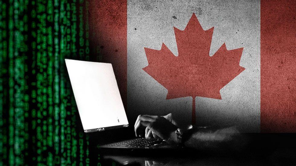 Illustration: Hackar kandenisk bank