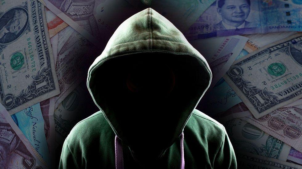 Illustration: Hackare och pengar