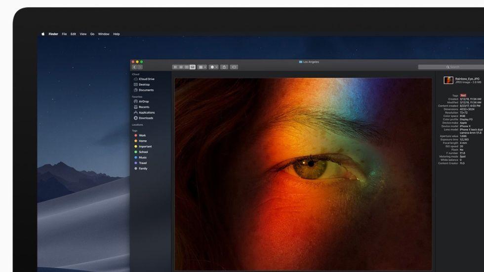 Mac OS 10.14 Mojave
