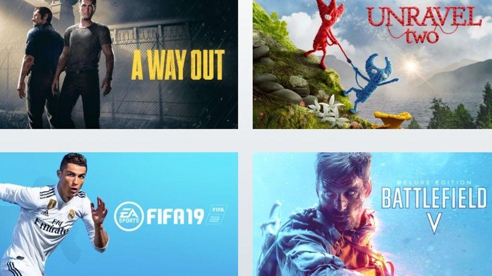 Spel du kommer få tillgång till med Origin Access Premier