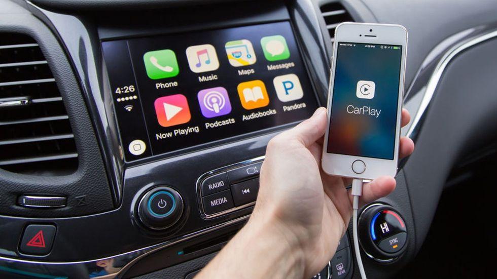 Bilmodeller med Apple carplay