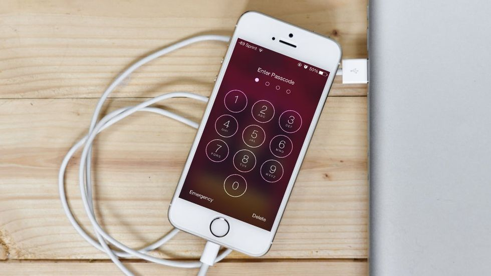 Iphone-lösenkod