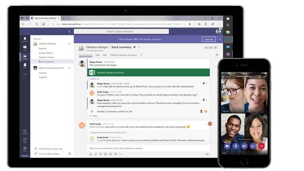 Microsoft Teams.