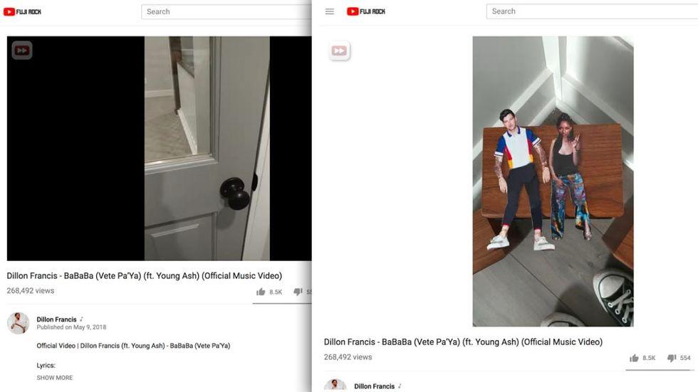 Youtubes uppdaterade webbspelare