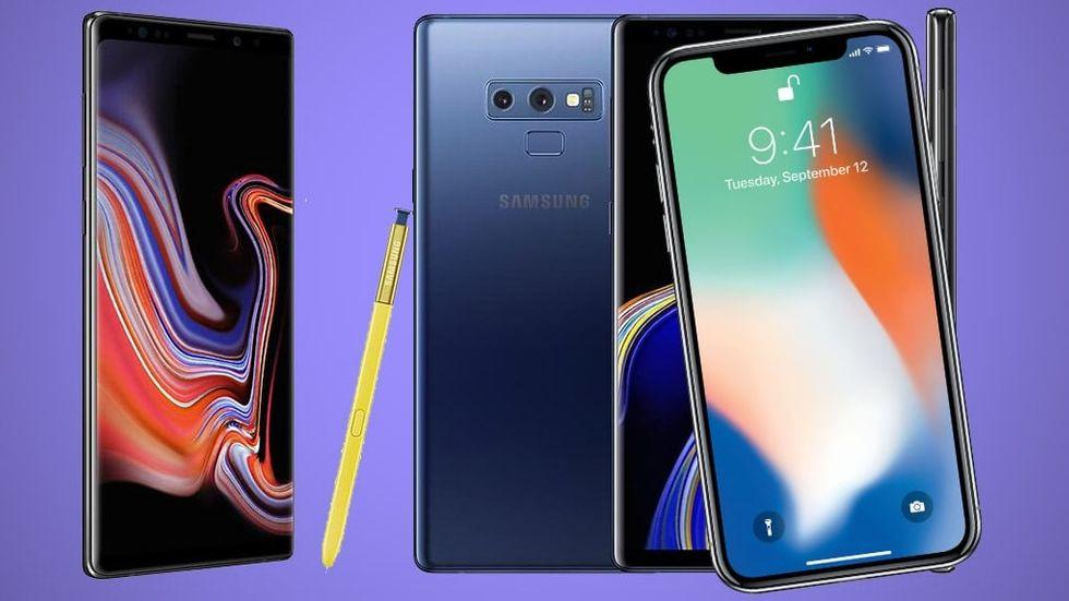 Iphone X vs Galaxy Note 9  Så står sig mobilerna mot varandra - M3 200038d915faf