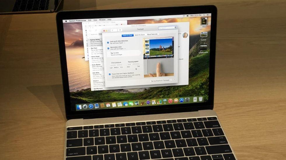 Macbook 12 tum.