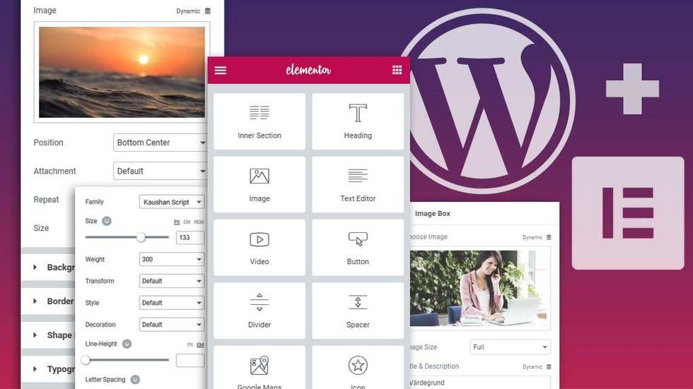 Wordpress pagebuilder elementor