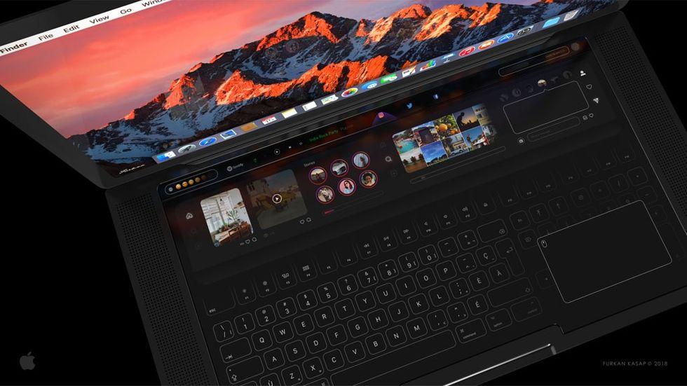 Farkan Kasaps koncept på ny Macbook Pro