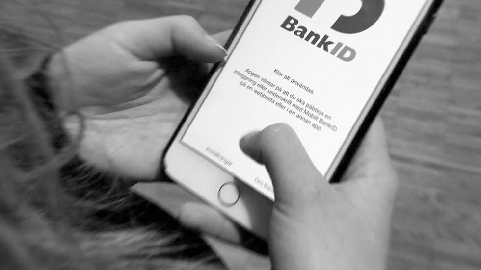 Bank-id bedrägerier