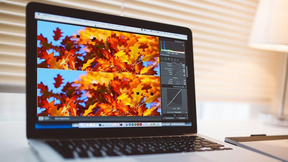 Buggig grafik på Mac