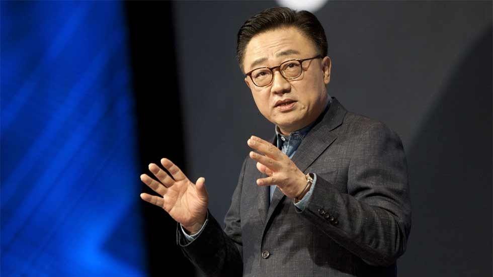 vd:n för Samsungs mobila verksamhet DJ Koh
