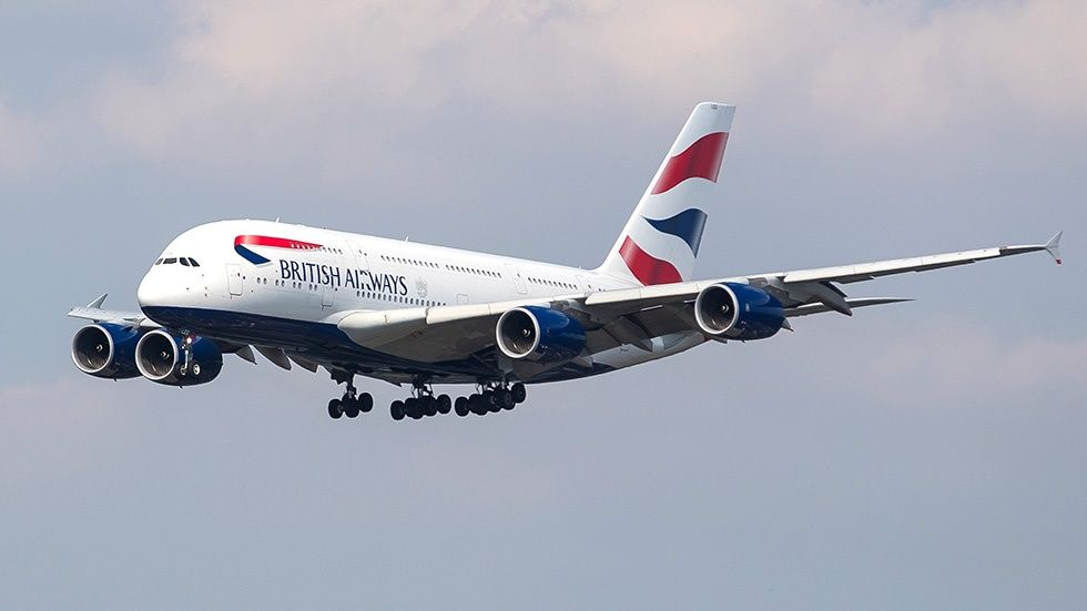 British Airways-plan