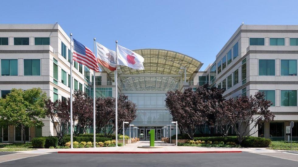 Apples gamla högkvarter på Infinite Loop