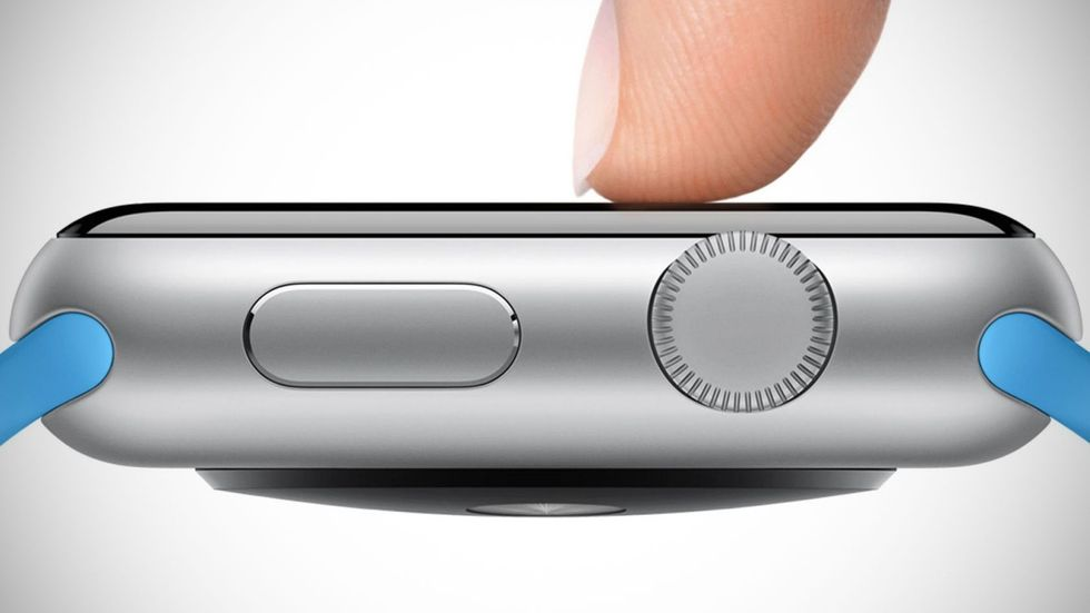 Force Touch på Apple Watch