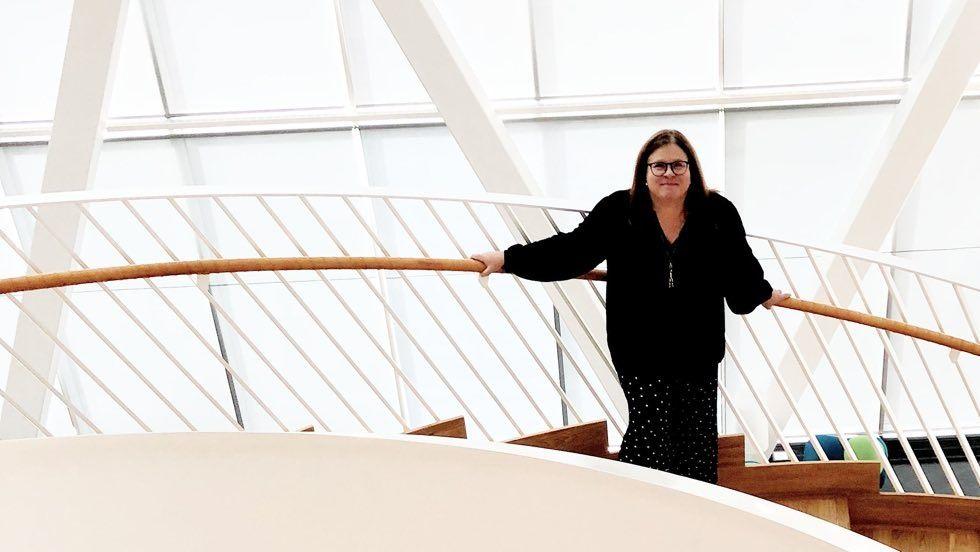 Lotta Lovén, chef för den digitala utvecklingen på Swedbank