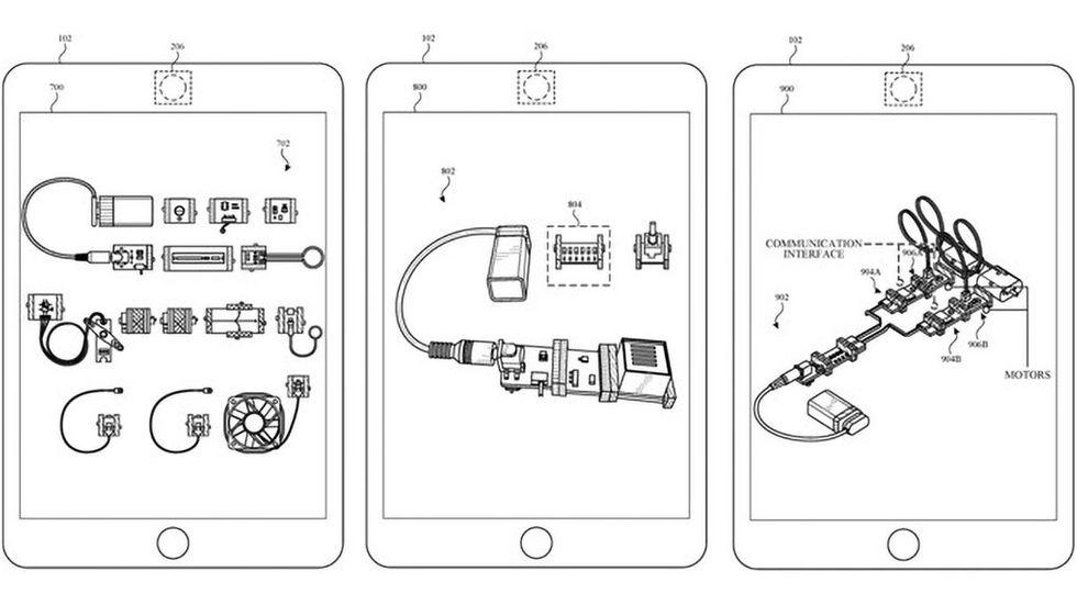Apples patentansökan för robotprogrammering