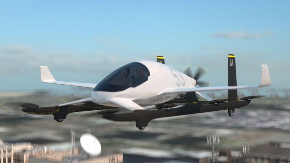 Flygande bil