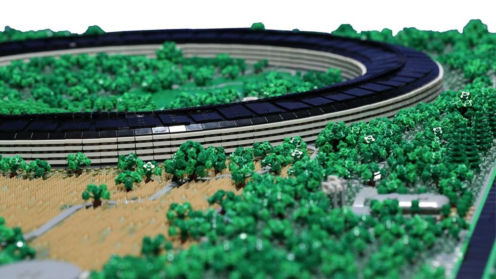 Apple Park i Lego