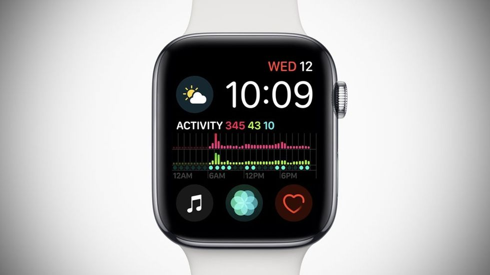 Infograph-urtavlan på Apple Watch Series 4