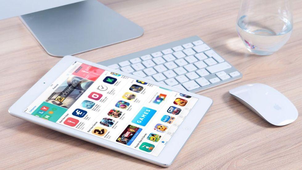 App Store på en Ipad