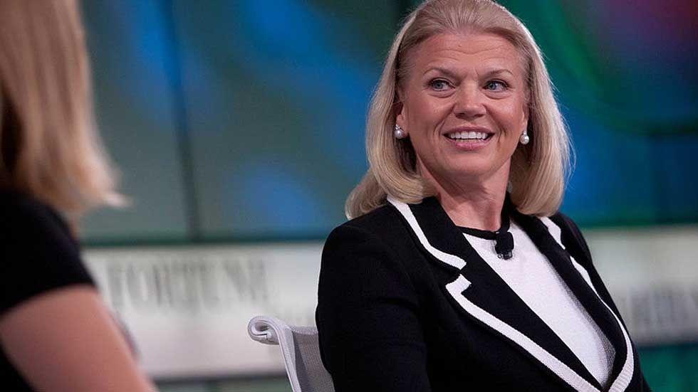 IBM:s vd Ginni Rometty