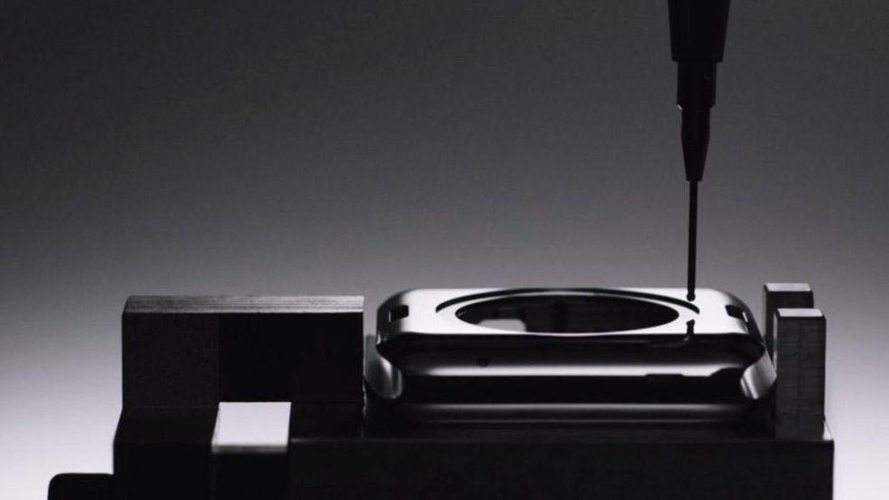Apple Watch-montering