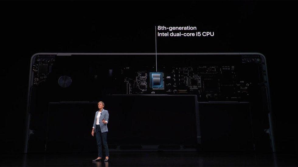 Processorn i nya Macbook Air