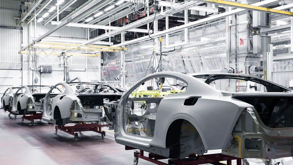 Volvo-fabrik
